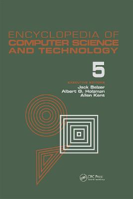 Encyclopedia of Computer Science and Technology - Jack Belzer