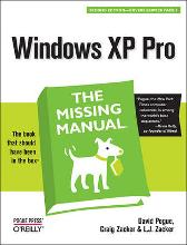 Windows XP Pro: The Missing Manual - David Pogue Craig Zacker Linda Zacker