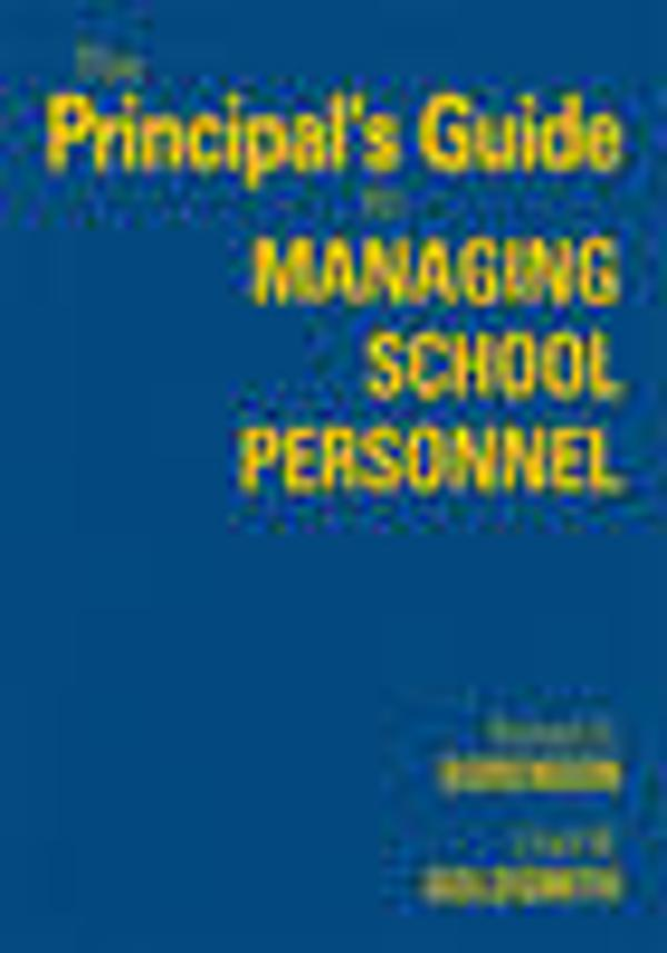 The principal 39 s guide to managing school personnel for Sorenson tips
