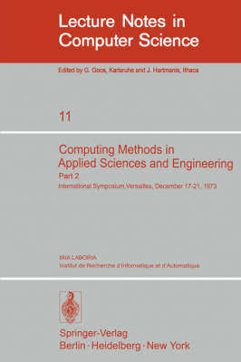 Computing Methods in Applied Sciences and Engineering - R Glowinski