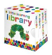 The Very Hungry Caterpillar: Little Learning Library - Eric Carle