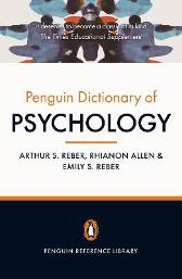 The Penguin Dictionary of Psychology (4th Edition) - Arthur S. Reber Rhianon Allen Emily S. Reber