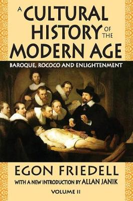 A Cultural History of the Modern Age - Egon Friedell