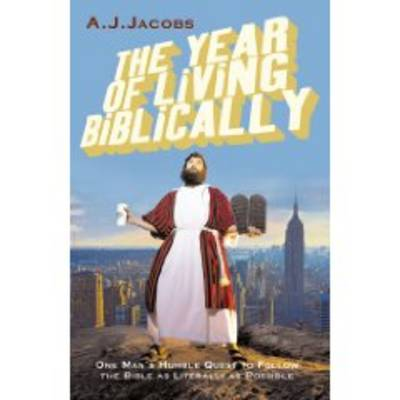 The Year of Living Biblically (Large Print) - A. J. Jacobs