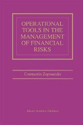 Operational Tools in the Management of Financial Risks - Constantin Zopounidis