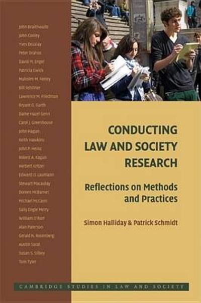 Conducting Law and Society Research - Simon Halliday