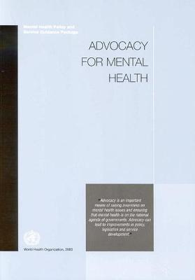 Advocacy for Mental Health - Who
