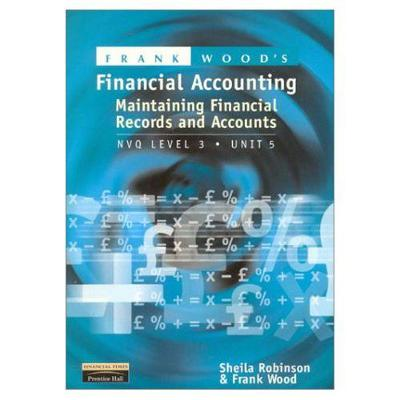 Financial Recording and Preparation - Sheila I. Robinson