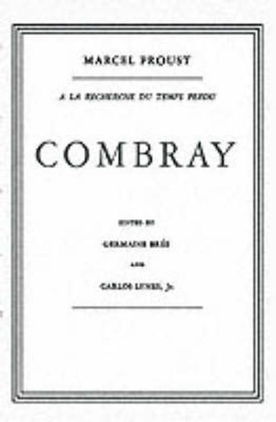 Combray In French - Proust