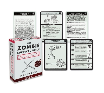 Zombie Survival Guide Deck - Max Brooks