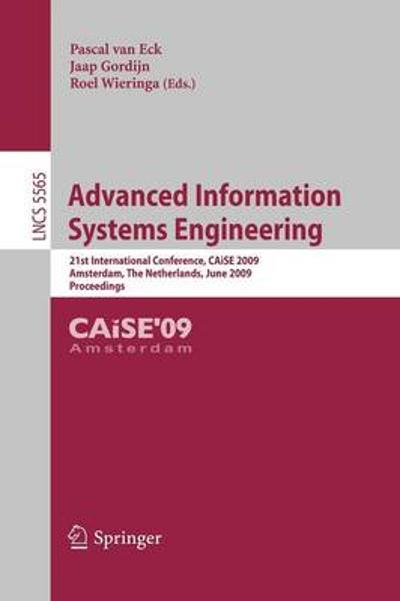 Advanced Information Systems Engineering - Pascal van Eck