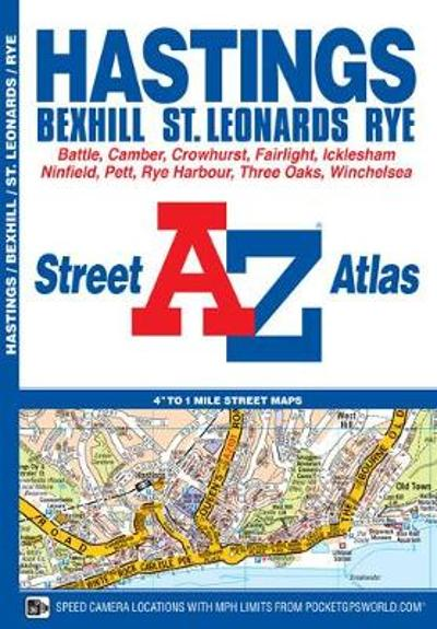 Hastings Street Atlas - Geographers' A-Z Map Company