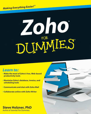 Zoho For Dummies - Steve Holzner