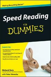 Speed Reading For Dummies - Richard Sutz Peter Weverka