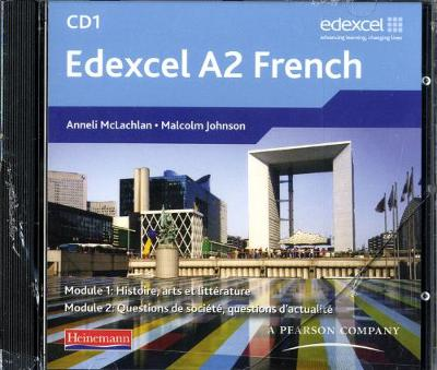 Edexcel A2 Level French Audio CD Pack of 2 - Anneli Mclachlan