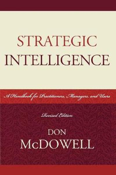 Strategic Intelligence - Don McDowell