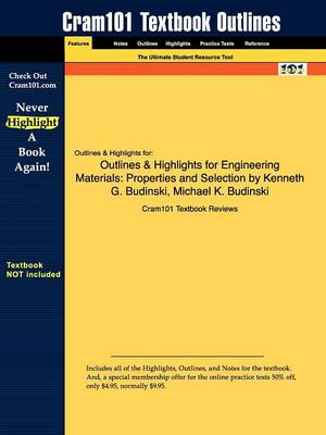 Outlines & Highlights for Engineering Materials - Cram101 Textbook Reviews