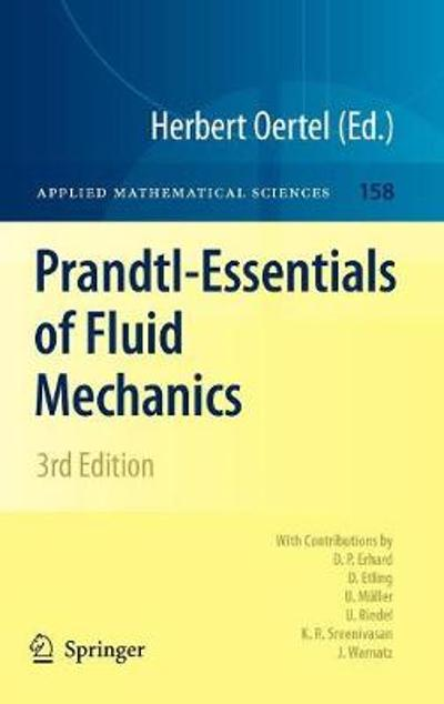 Prandtl-Essentials of Fluid Mechanics - Herbert Oertel, Jr.