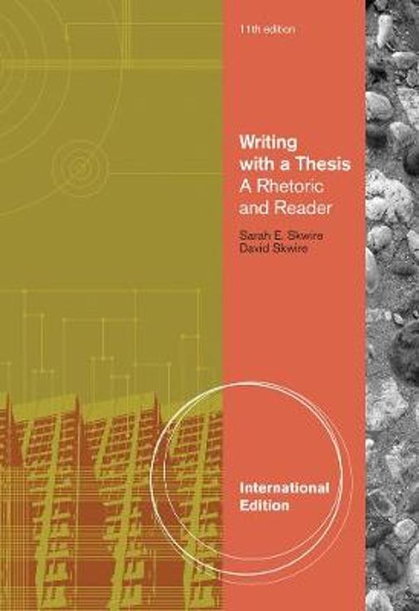 writing with a thesis 11th edition answers Writing with a thesis / edition 11 based on the principle that the ability to develop and support a thesis persuasively is of utmost importance for beginning writers, writing with a thesis: a rhetoric and reader, 11th edition, dispenses clear and practical.