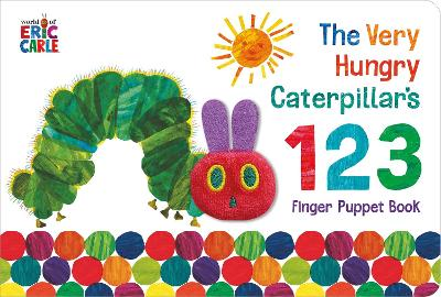 The Very Hungry Caterpillar Finger Puppet Book, - Eric Carle
