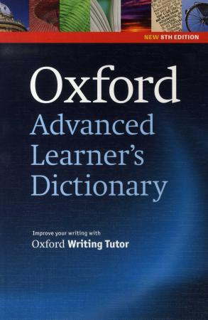 Oxford advanced learner's dictionary of current English - A.S. Hornby