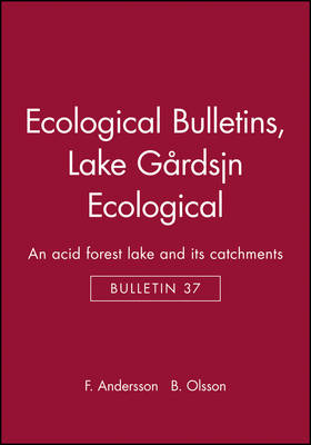 Ecological Bulletins - F. Andersson B. Olsson