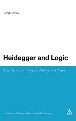 Heidegger and Logic - Greg Shirley