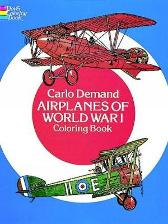 Airplanes of World War I Coloring Book - Carlo Demand
