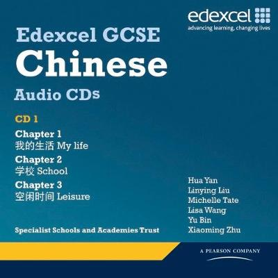 Edexcel GCSE Chinese Audio CD Pack - Katharine Carruthers