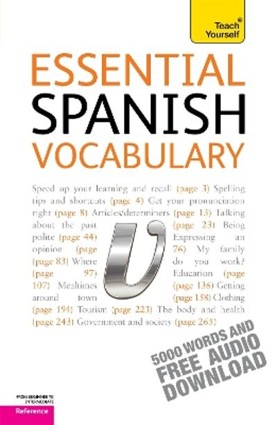 Essential Spanish Vocabulary: Teach Yourself - Mike Zollo