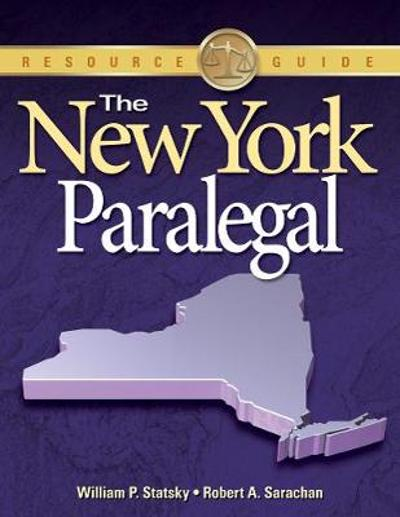 The New York Paralegal - William Statsky