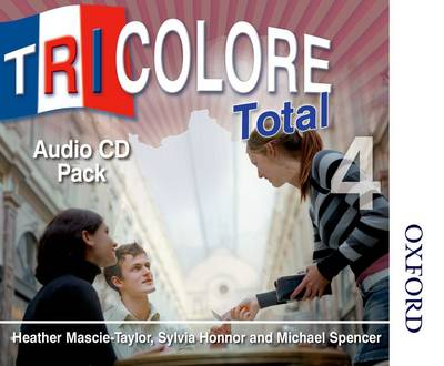 Tricolore Total 4 Audio CD Pack - S Honnor