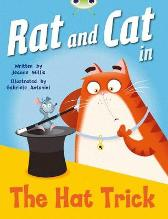 Bug Club Guided Fiction Reception Red A Rat and Cat in the Hat Trick - Jeanne Willis