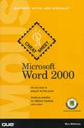 Microsoft Word 2000 - Mary Millhollon
