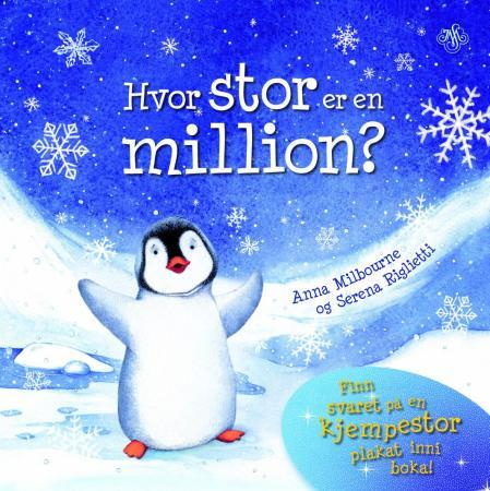 Hvor stor er en million? - Anna Milbourne