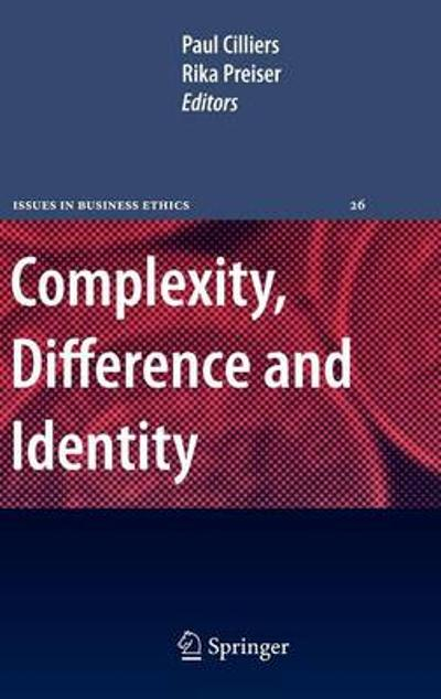 Complexity, Difference and Identity - Paul Cilliers