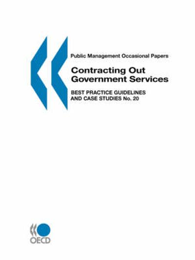 Contracting Out Government Services - Organization for Economic Co-operation and Development