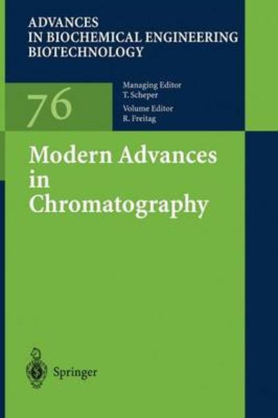 Modern Advances in Chromatography - Ruth Freitag