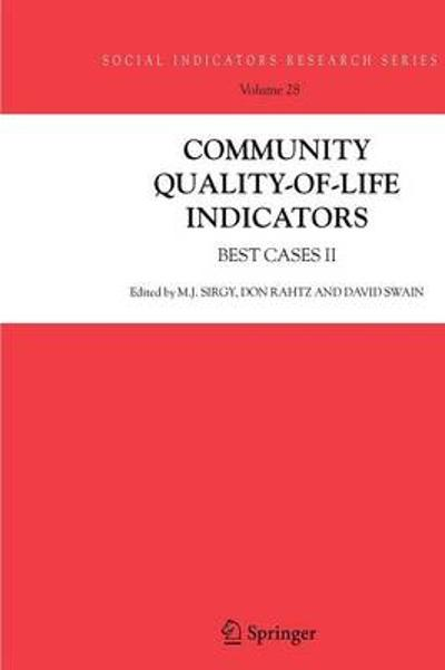 Community Quality-of-Life Indicators - Joseph Sirgy
