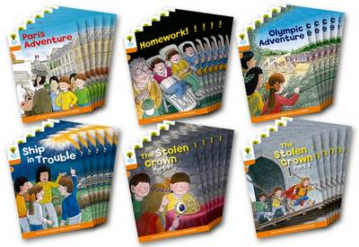Oxford Reading Tree: Stage 6: More Stories B: Class Pack of 36 - Roderick Hunt