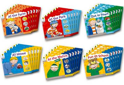 Oxford Reading Tree: Stage 1: Floppy's Phonics: Sounds and Letters: Class Pack of 36 - Roderick Hunt