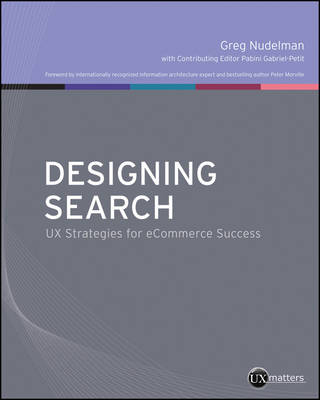 Designing Search - Greg Nudelman