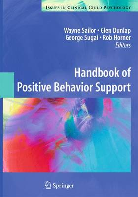 Handbook of Positive Behavior Support - Wayne Sailor