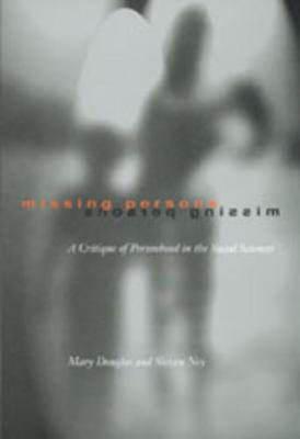 Missing Persons - Professor Mary Douglas