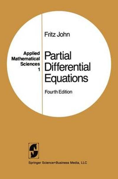 Partial Differential Equations - Fritz John
