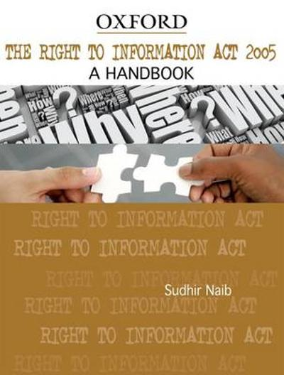 The Right to Information Act 2005 - Sudhir Naib
