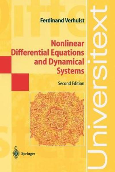 Nonlinear Differential Equations and Dynamical Systems - Ferdinand Verhulst