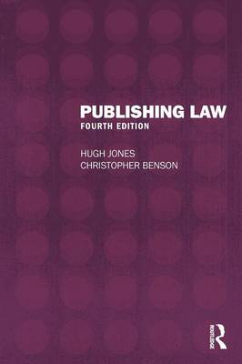 Publishing Law - Hugh Jones