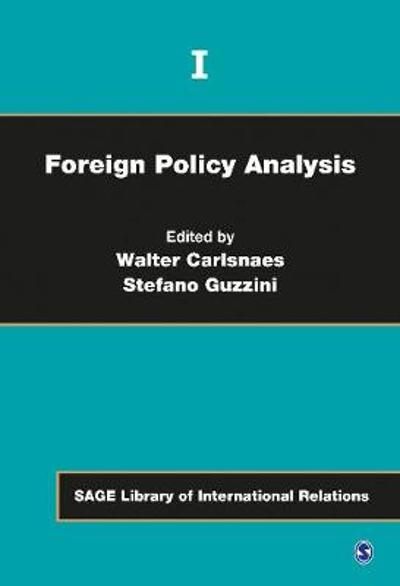 Foreign Policy Analysis - Walter E. Carlsnaes