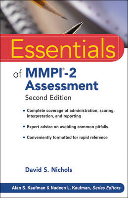 Essentials of MMPI-2 Assessment - David S. Nichols